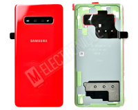 VITRE ARRIERE ROUGE SAMSUNG GALAXY S10+