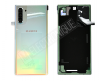 VITRE ARRIERE SILVER SAMSUNG GALAXY NOTE 10