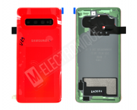 VITRE ARRIERE ROUGE SAMSUNG GALAXY S10