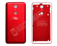 CACHE ARRIERE ROUGE WIKO U PULSE 4G