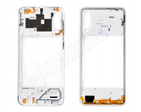 CHASSIS INTERMEDIAIRE BLANC SAMSUNG GALAXY A30S