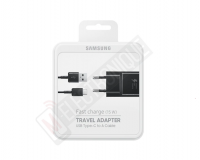 CHARGEUR RAPIDE USB TYPE-C NOIR 15W SAMSUNG GALAXY
