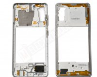 CHASSIS INTERMEDIAIRE BLANC SAMSUNG GALAXY A41