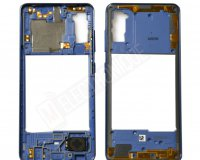 CHASSIS INTERMEDIAIRE BLEU SAMSUNG GALAXY A41
